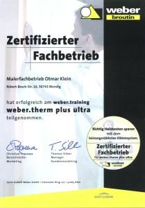 Zertifizierter Fachbetrieb