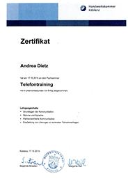 Seminare Büroorganisation /Telefontraining